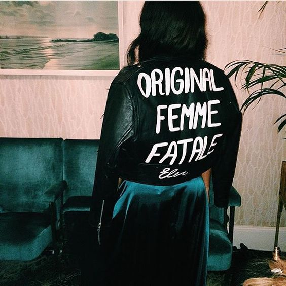 Customize your jacket with a nice font and a good text | The Good Rogue