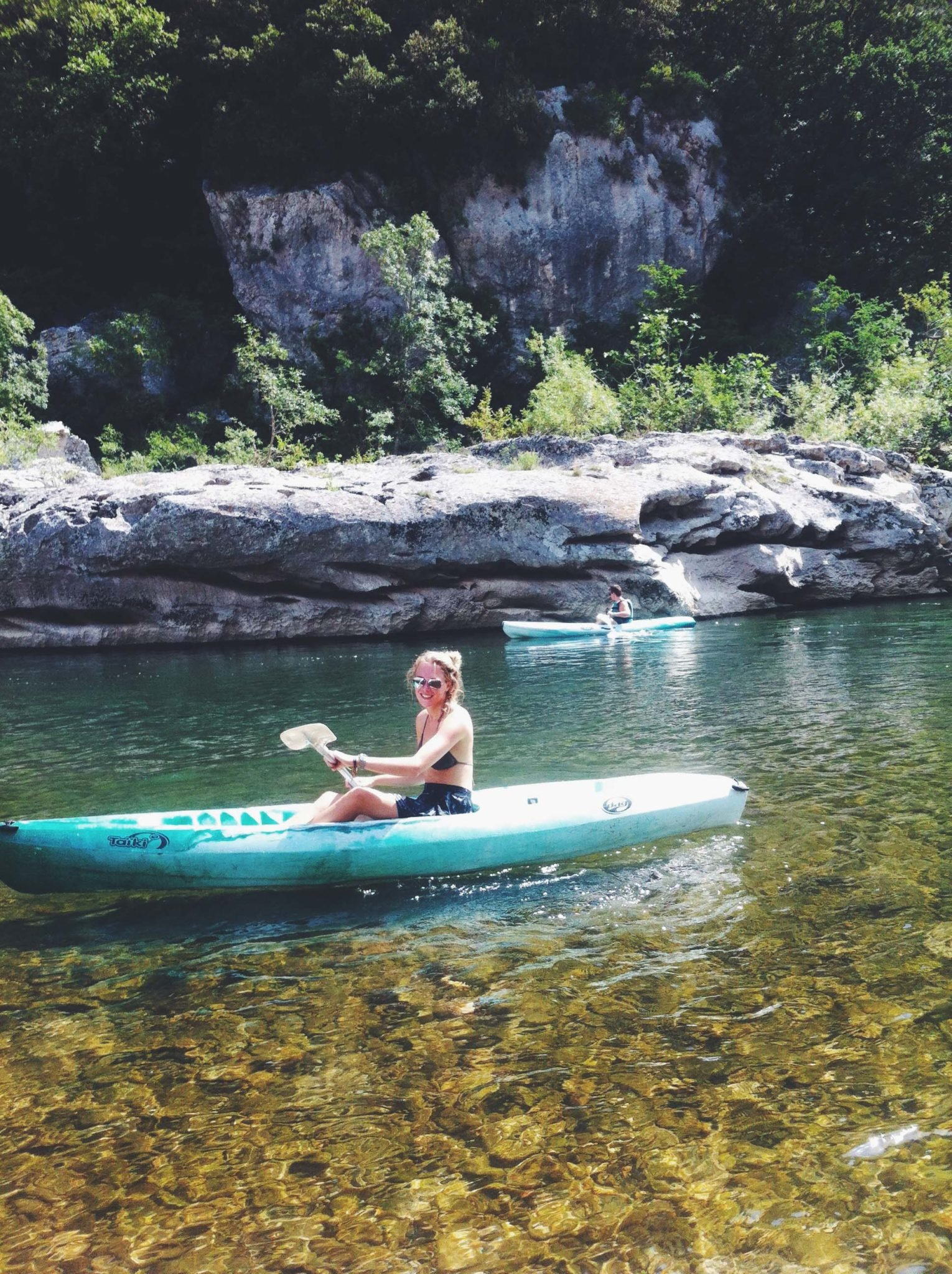 Canoeing Ardeche