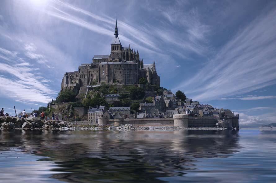 Mont Saint-Michel France - The Good Rogue