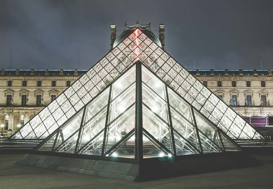 The Louvre Pyramid - The Good Rogue