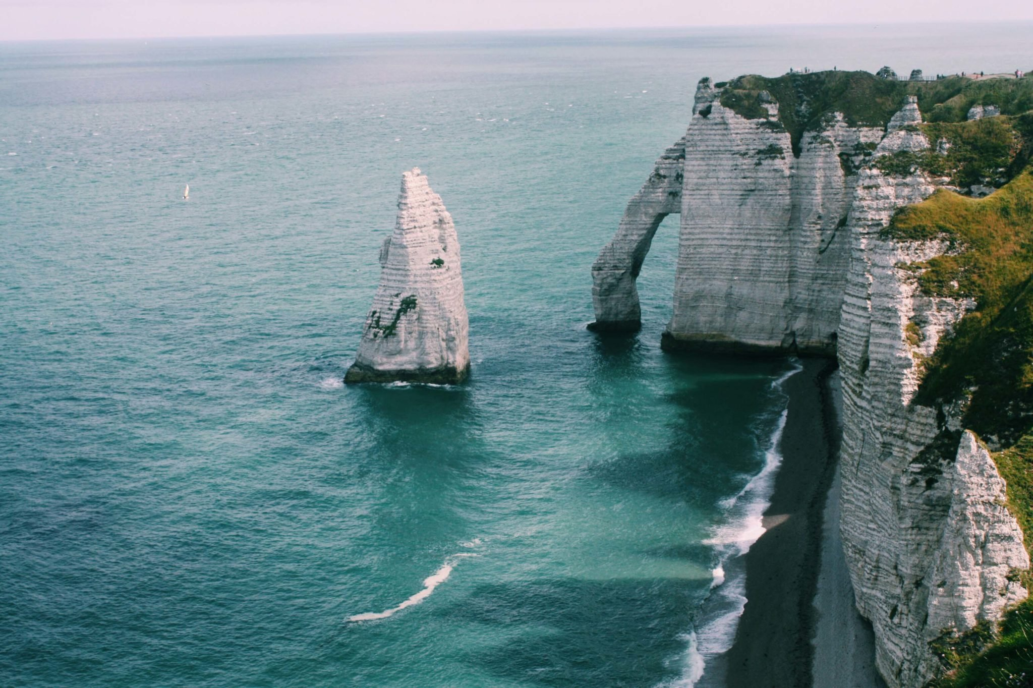 white chalk cliffs - The Good Rogue - World Travel Blog