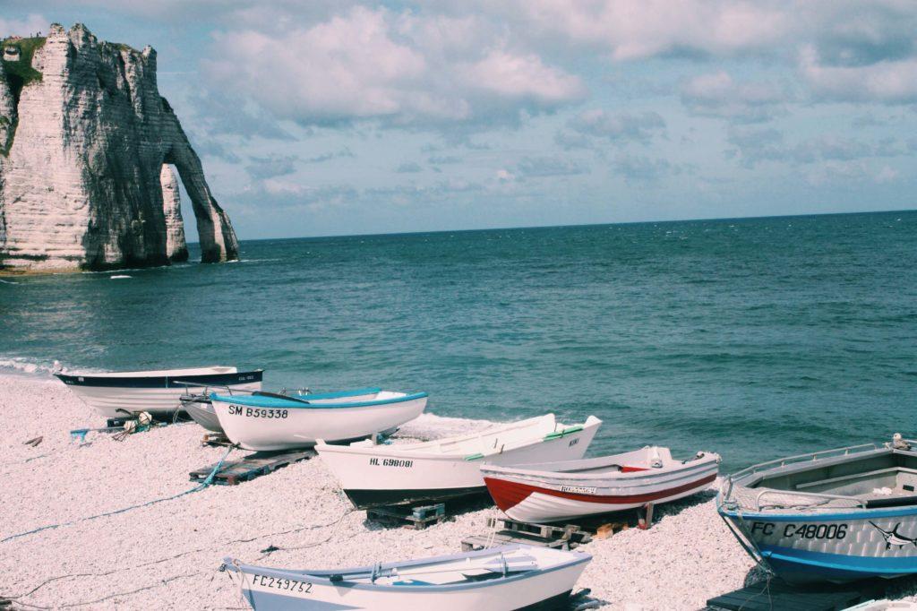 white chalk cliffs - The Good Rogue - World Travel Blog